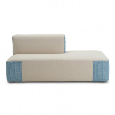 Varaschin Belt Chaiselongue (Loungesofa Modul ZWEIFARBIG) 160 cm